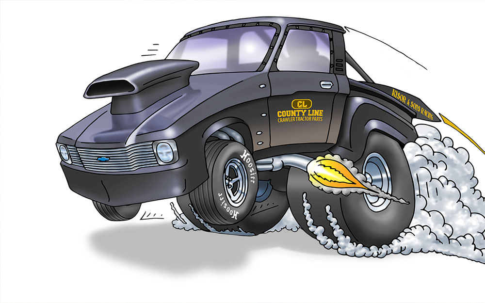 Cool Illustrations of Cars, Trucks and Robots